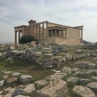 Akropolis-Athen-Kleinkind