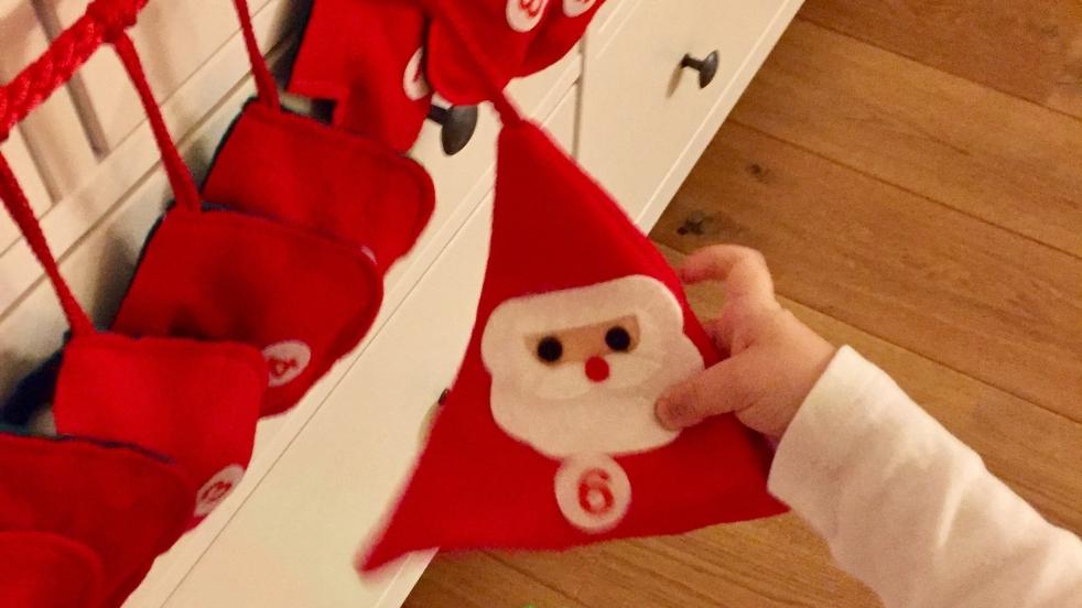 Frohe Weihnachten Irisch.21 Türchen Das Ho Ho Ho Konzept Spanisch Irische Weihnachten